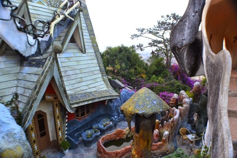 Dalat, Vietnam, crazy house
