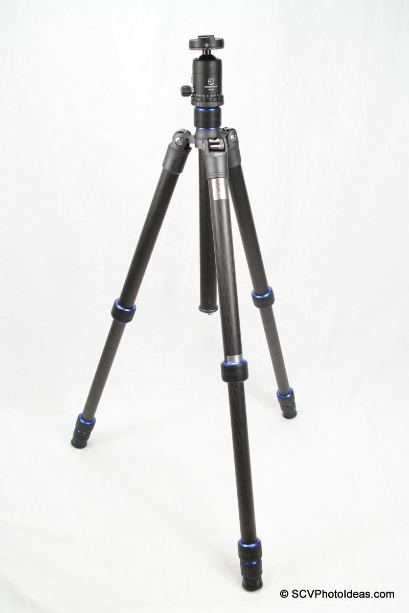 Sunwayfoto FB-36DDH and Nest NT-6294C Tripod combo