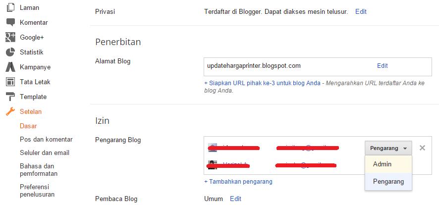 Cara Menghapus Alamat Blogger Secara Permanen 6