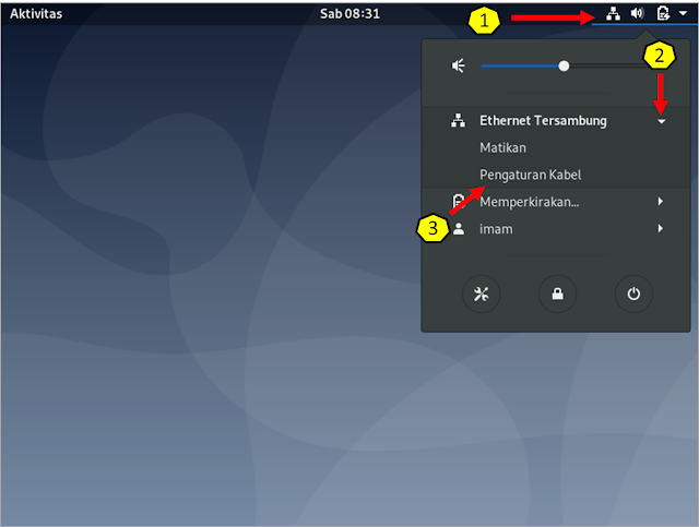 Konfigurasi Ethernet