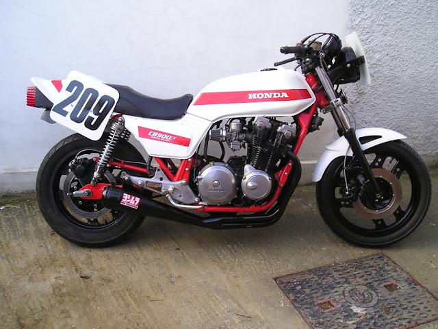 Honda CB900F Stunt Pics