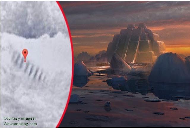 Tangga Misterius di Antartika ini Menyebarkan Diskusi Baru tentang Kehidupan di Luar Bumi