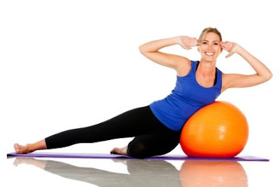 Strengthen Core Muscles with Pilates Exercises Using Pilates Balls