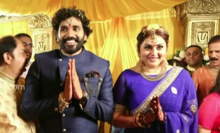 Namitha – Veera Wedding at Tripathi