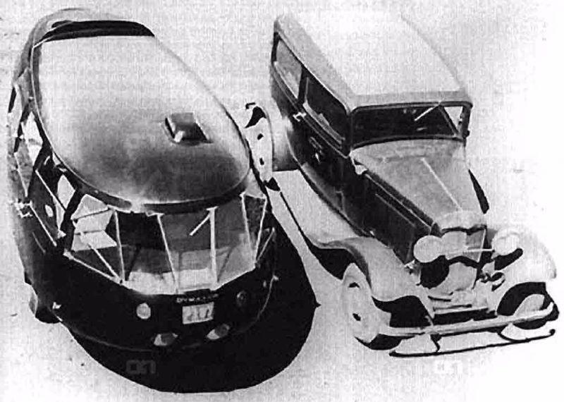 Dymaxion Car Crash