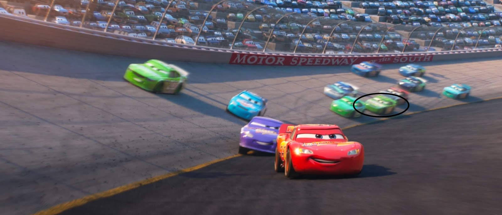 Cars 3: Darren Leadfoot (Shiny Wax)