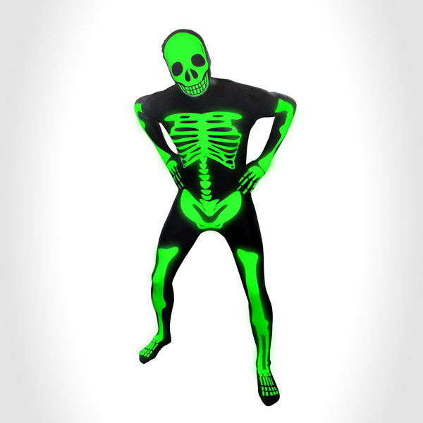 glow skeleton Morph Suits