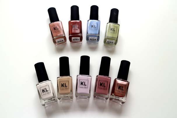 KL Polish Spring and Winter Collection - Swatches