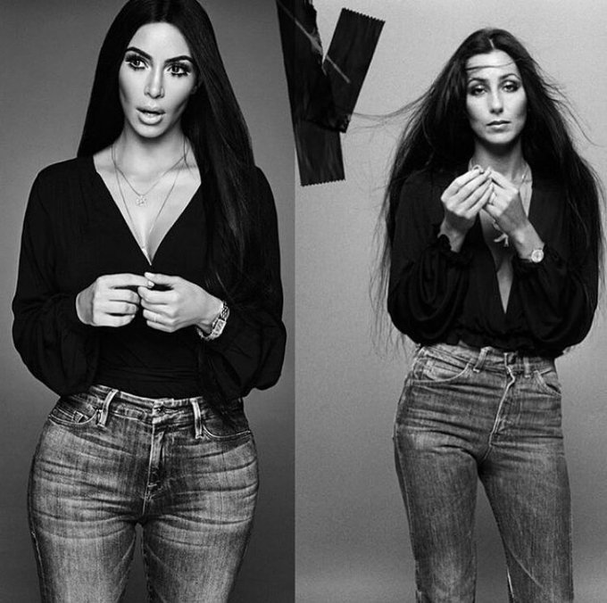 kim and cher