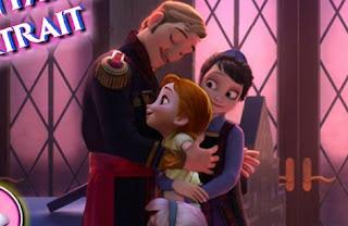 Frozen Family Portrait Games