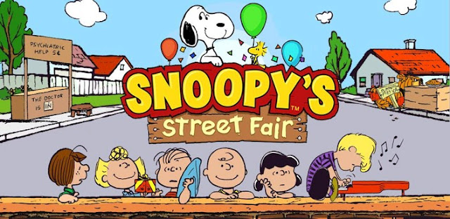 Game: Snoopy's Street Fair APK + DATA Direct Link