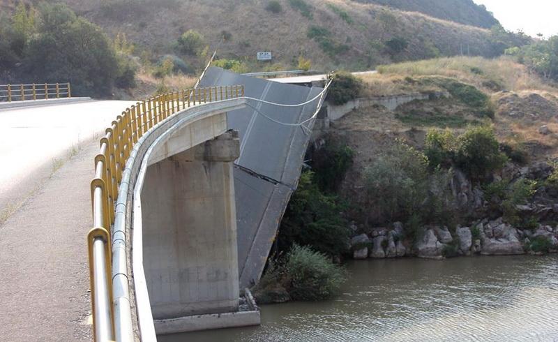 Ενέργειες της Περιφέρειας ΑΜ-Θ σχετικά με την κατάρρευση της γέφυρας στον Πολύανθο Ροδόπης