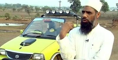 मोहम्मद रईस  ने बनायीं ऐसी कार जो पेट्रोल की जगह पानी से चलेगी!