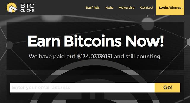 شرح موقع btcclicks المفاجاة في الربح bitcoin | كسب البتكوين بسرعة مقابل الضغط علي الاعلانات + اثبات الدفع