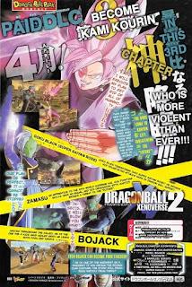 Goku Black Rose, Zamasu y Bojack
