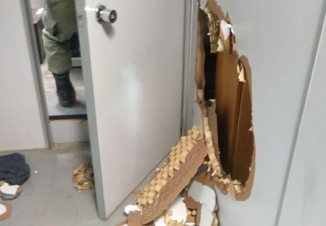 URGENTE: Bandidos invadem Banco do Brasil de Elesbão Veloso; PM aborta ação e evita furto a dinheiro.