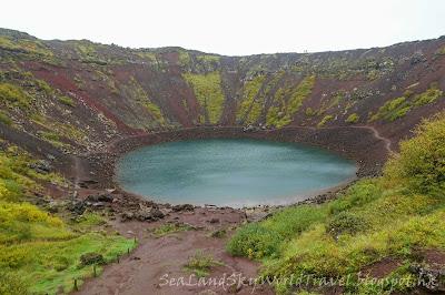 冰島, Iceland, Kerio火山口