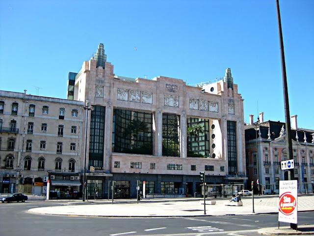 Lisboa. Plaza dos Restauradores