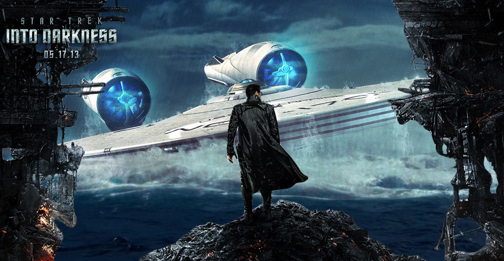 Star Trek Into Darkness Wallpapers: BADBOYS DELUXE: STAR TREK : INTO THE DARKNESS