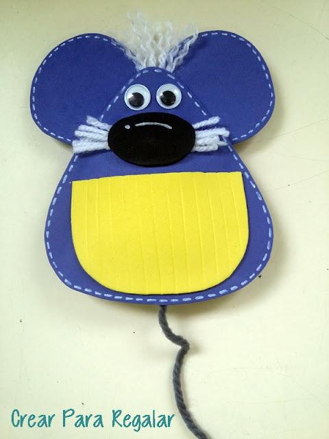 ratón pérez en goma eva