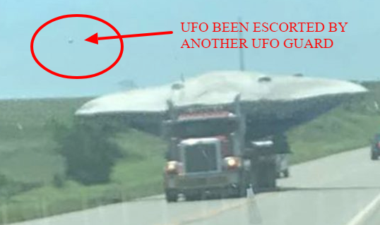 Real UFO unseen in an image that has another UFO on it