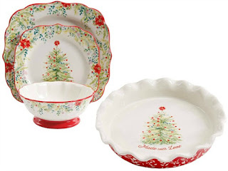 Pioneer Woman Christmas Dishes.