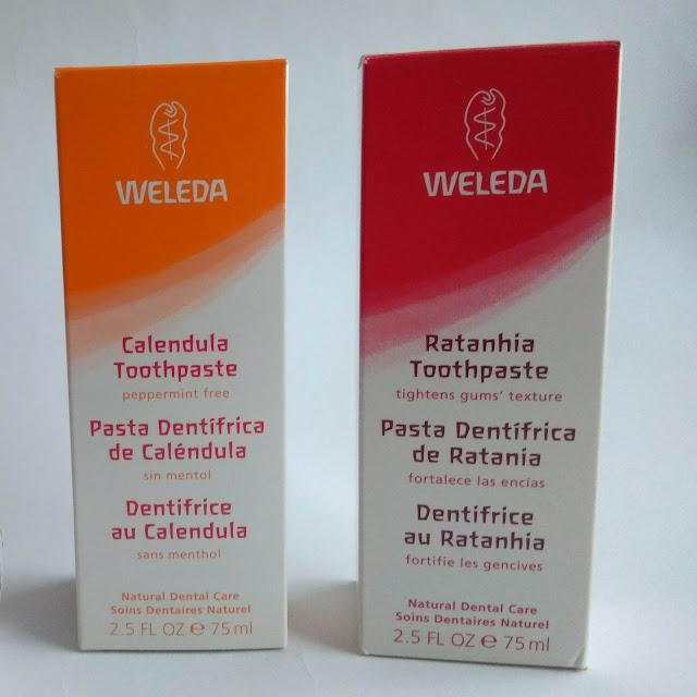 Dentífricos Weleda