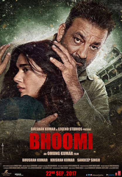 Poster of Bhoomi 2017 Full Movie [Hindi-DD5.1] 720p HDRip ESubs Download