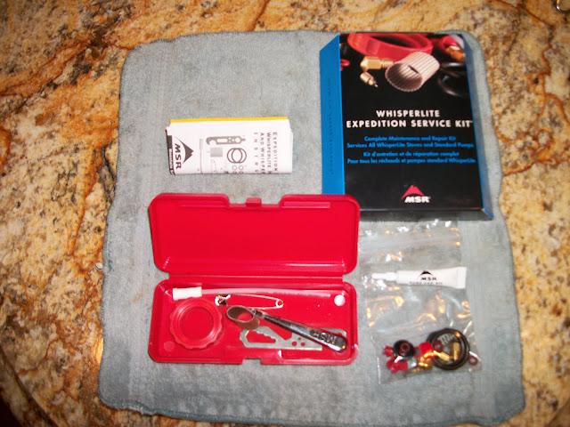 MSR WhisterLite International Stove Maintenance & Repair