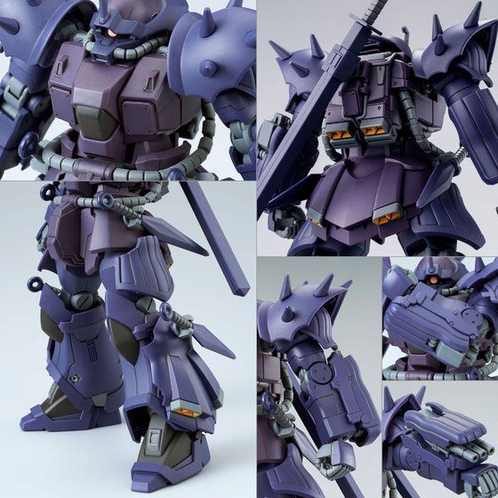 P-Bandai: HGUC 1/144 MS-08TX/N Efreet Nacht equipment