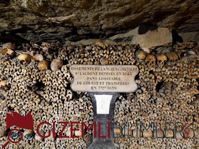 Yeraltı Mezarları, Fransa