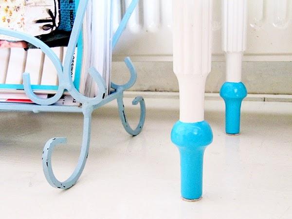 Dip Painted Furniture Legs