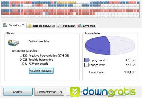 Defraggler - Desfragmentador de disco