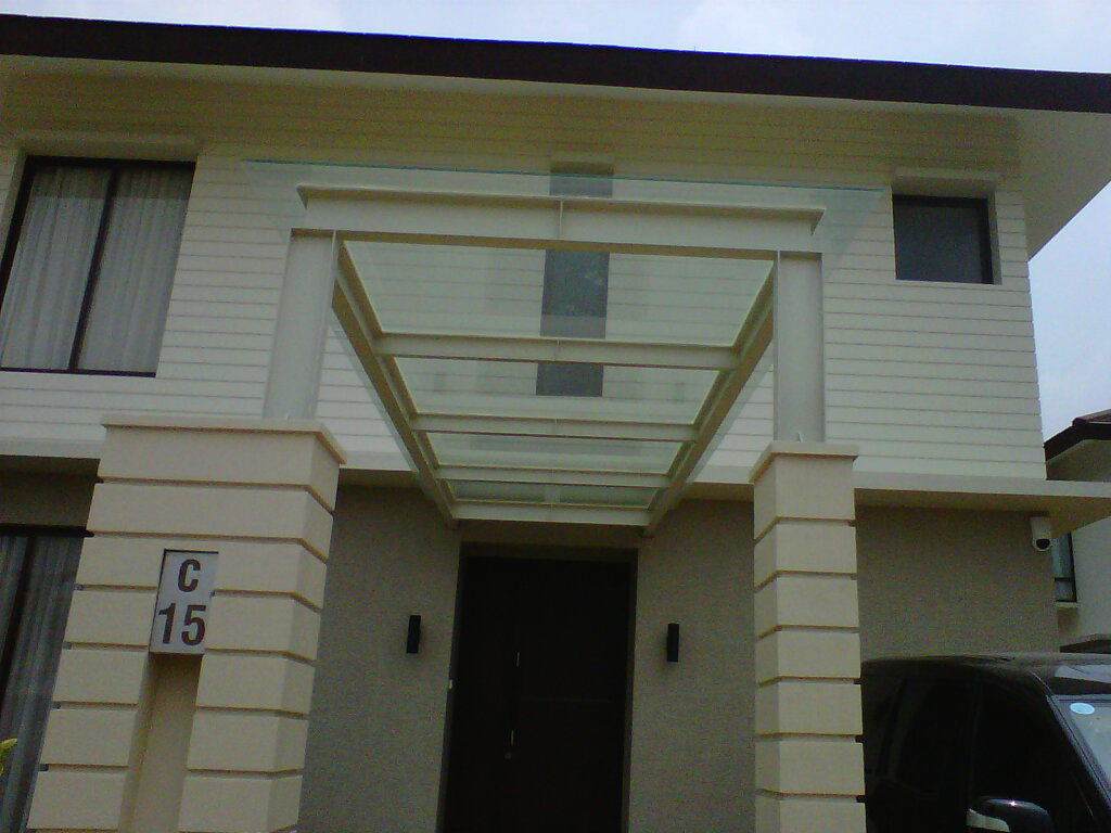 canopy baja ringan tanpa tiang kanopi bina karya: foto carport (kanopi)