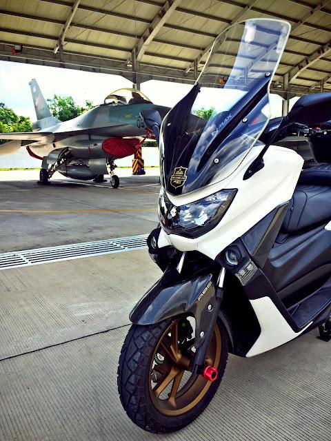AUTOBLOG-11: Yamaha Nmax Touring yang stylish