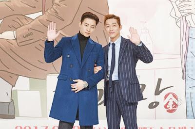 Bromance Dalam Drama Korea - Good Manager / Chief Kim, Joon Ho (2 PM), Namgoong Min, Drama Korea, Good Manager, Chief Kim,