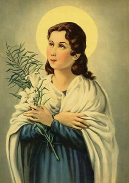 Saint Maria Goretti, Martyr of Purity