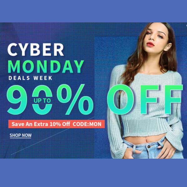 Sammydress Cyber Monday