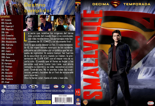 Smallville Temporada 10 Español HDTV Version Original Subtitulada