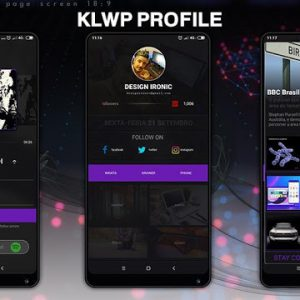 Klwp Profile v2018.Sep.21.11 [Paid] APK