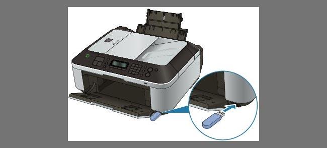 flash diskli printer