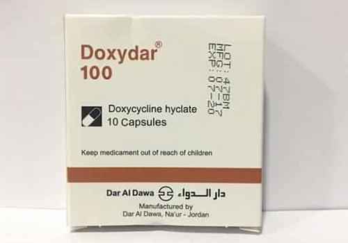 سعر ودواعي إستعمال دواء دوكسيدار Doxydar كبسولات مضاد حيوى