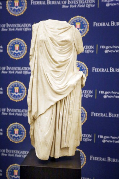 Roman statue stolen from Mussolini is returning to Italy