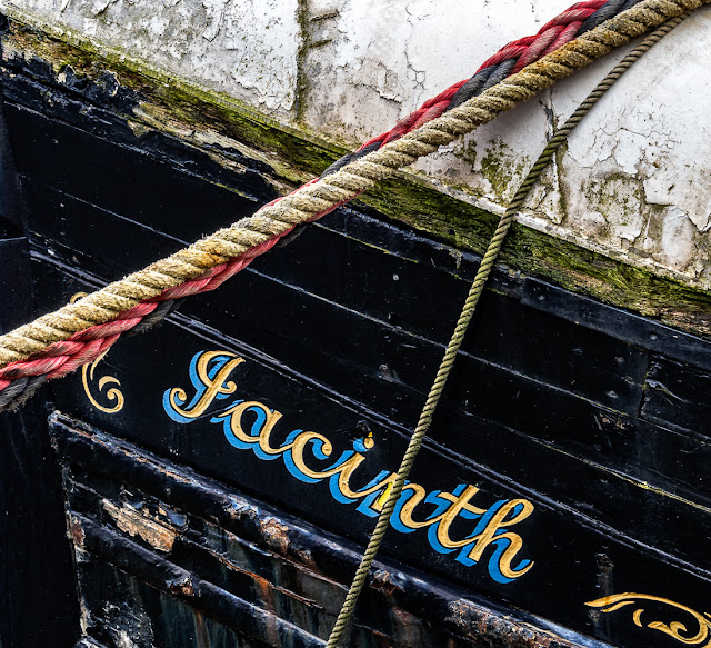 Photo of Jacinth in Maryport Harbour