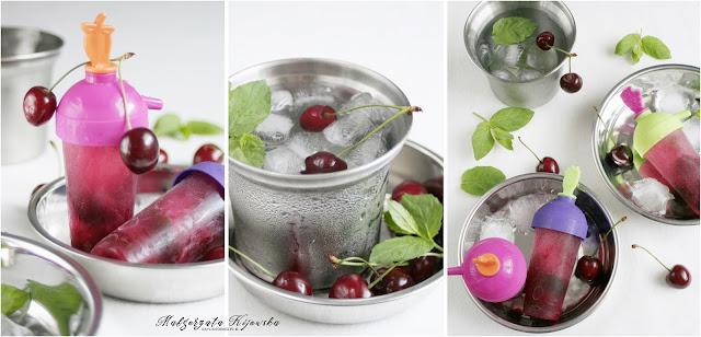 domowe wodne lody, deser na lato, jak zrobić domowe lody?, lody w domu, daylicooking
