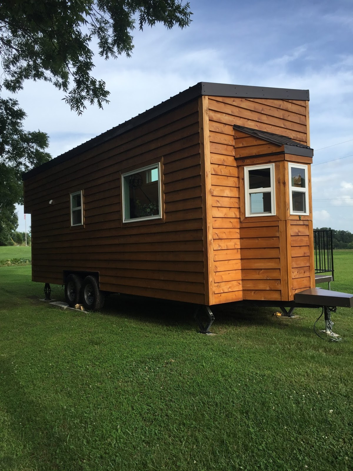 The Tennessee Tiny House 185 Sq Ft Tiny House Town Mendy 39 S