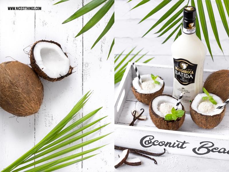 Kokos Vanille Floats Drink Rezept mit Batida de Coco