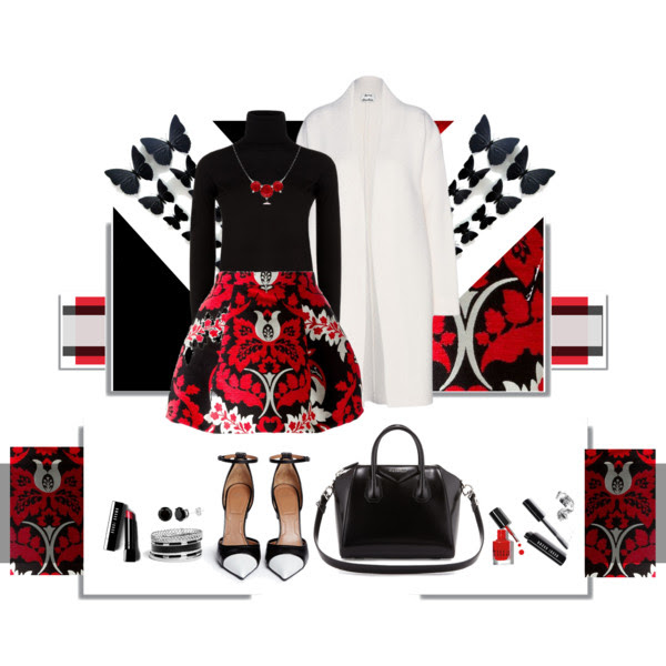 NEBOJTE SA VÝRAZNÝCH SUKNÍ_Katharine-fashion is beautiful_Black&White_Sukňa_Katarína Jakubčová_Fashion blogger