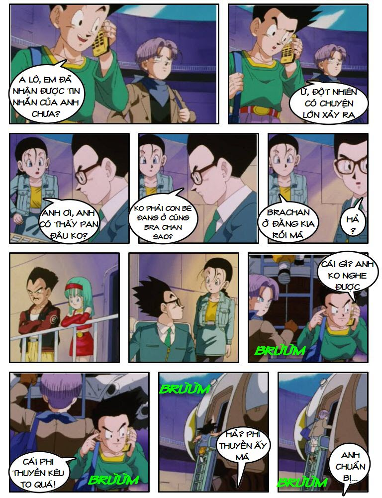 Dragon Ball GT chap 5 - Trang 17