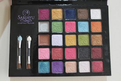 Cantik dengan Eye shadow Sariayu di Female daily